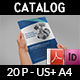 Auto Parts Catalog Brochure Template - 20 Pages - GraphicRiver Item for Sale
