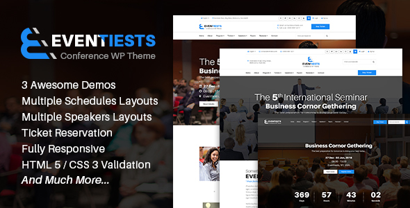 Event - Event & Conference HTML Template - Entertainment Site Templates