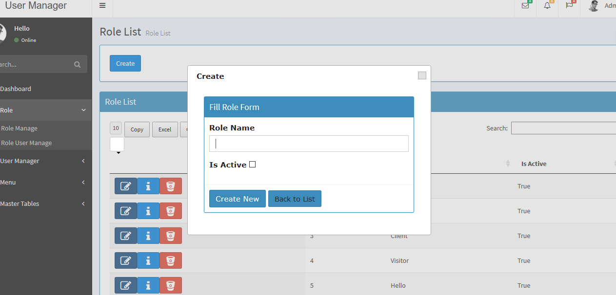 User Management System Open Source Mvc By Mrsonu Codecanyon