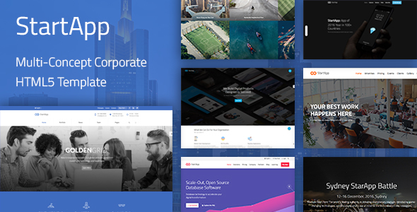 StartApp – Multi-Purpose Corporate HTML5 Template