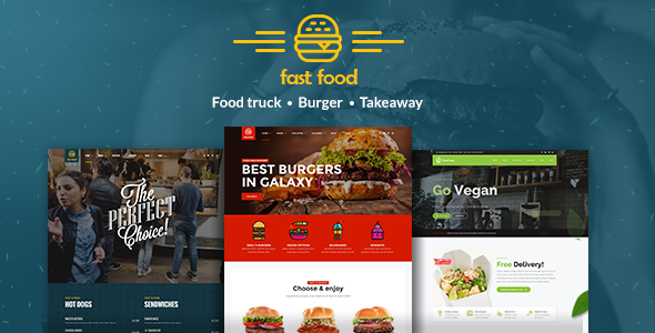 Fast Food – WordPress Fast Food Theme