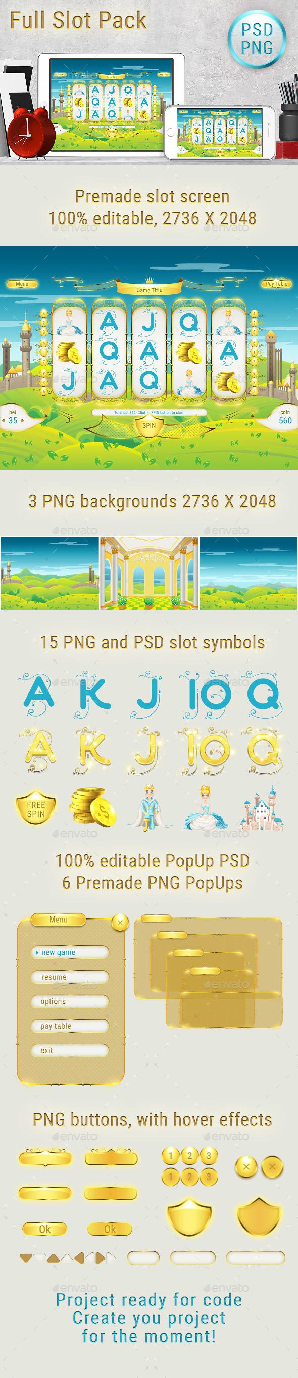 Royal Slot UI Pack Preview - Game Kits Game Assets
