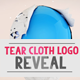 Tear Cloth Logo Reveal - VideoHive Item for Sale