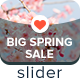 Big Spring Sale Slider - GraphicRiver Item for Sale