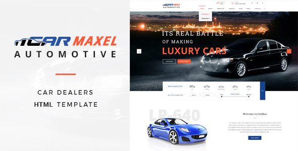 Car Max – Automotive HTML Template