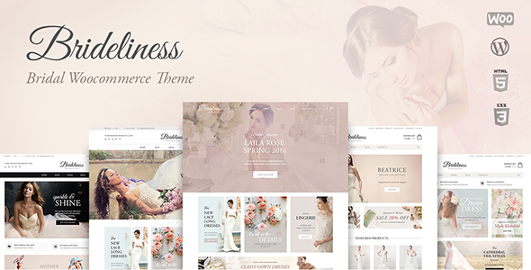Brideliness – Wedding Shop WooCommerce Theme