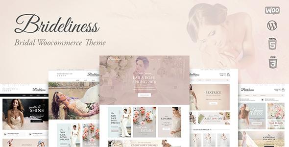Brideliness - Wedding Shop WooCommerce Theme