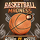 Basketball Madness v2 Flyer Template - GraphicRiver Item for Sale