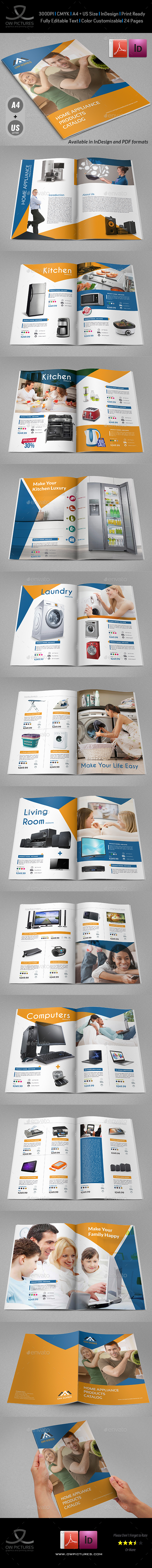 Products Catalog Brochure Template Vol2 - 24 Pages - Catalogs Brochures