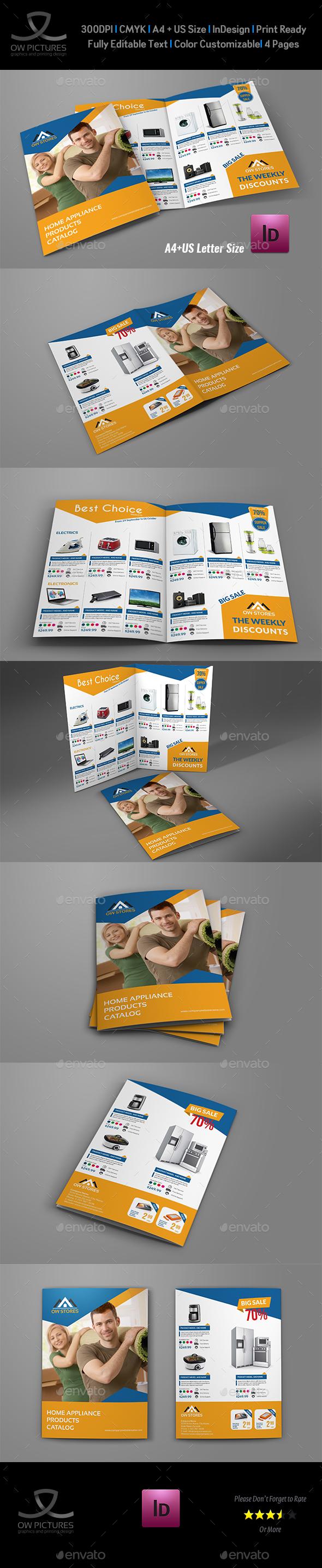 Products Catalogs Bi-Fold Brochure Vol.3 - Catalogs Brochures
