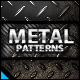 Metal Background Patterns - GraphicRiver Item for Sale