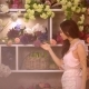 Woman and Flowers. Asian Girl with Bouquets - VideoHive Item for Sale