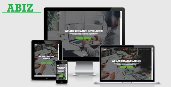 Abiz – Onepage Business Template