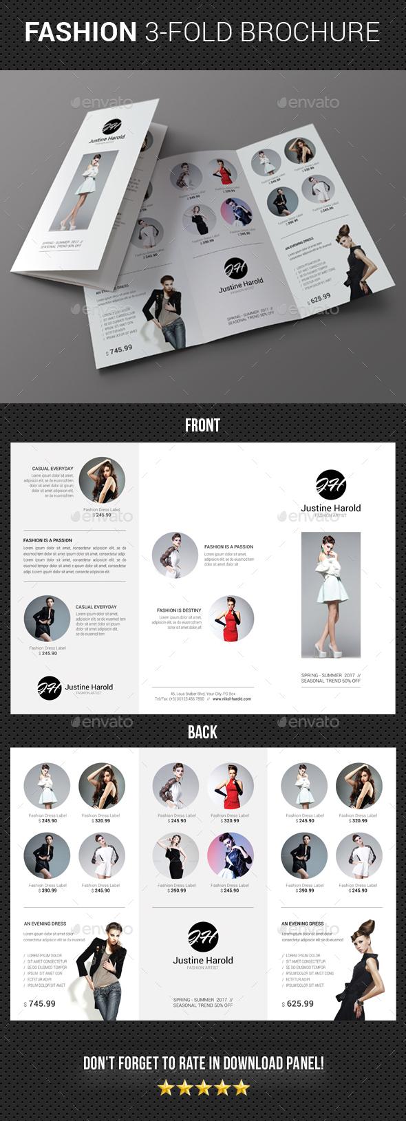 Fashion 3-Fold Brochure 20 - Catalogs Brochures