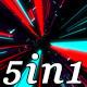Stream Rays - VJ Loop Pack (5in1) - VideoHive Item for Sale