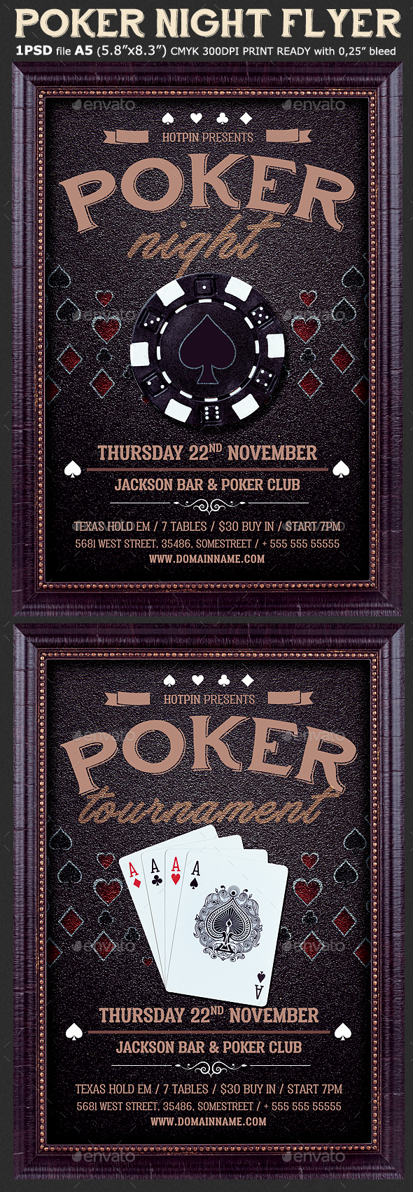 Poker Night Flyer Template - Events Flyers
