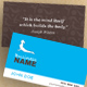 Pilates Vector business card - GraphicRiver Item for Sale