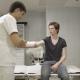Surgeon Examines Patient