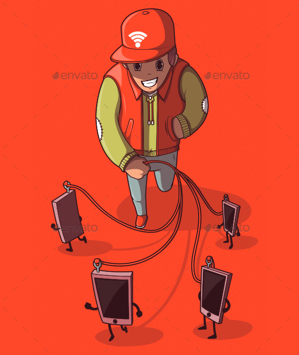 Walking The Phones - Miscellaneous Conceptual