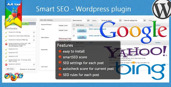 smart SEO - Wordpress Plugin - CodeCanyon Item for Sale