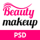 Beauty Makeup - Multipurpose Salon PSD Template Nulled