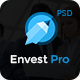 Envest Pro - Business Multipurpose PSD Template Nulled