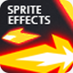 Sprite Muzzle Flashes - GraphicRiver Item for Sale