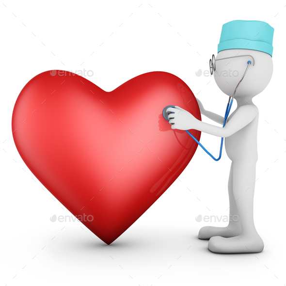 Doctor and Red Heart - Graphics