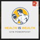 Health Is Wealth - Gym Powerpoint - GraphicRiver Item for Sale