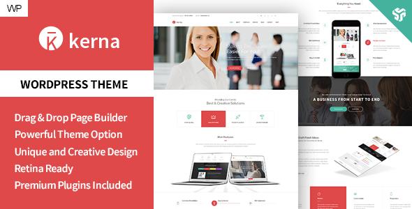 Kerna - Responsive Multi-Purpose WordPress Theme - Business Corporate