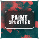 Paint Splatter Backgrounds - GraphicRiver Item for Sale