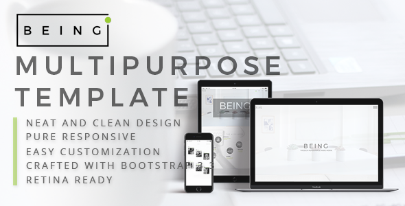 Being- Multi Purpose Template