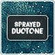 Sprayed Duotone Backgrounds - GraphicRiver Item for Sale