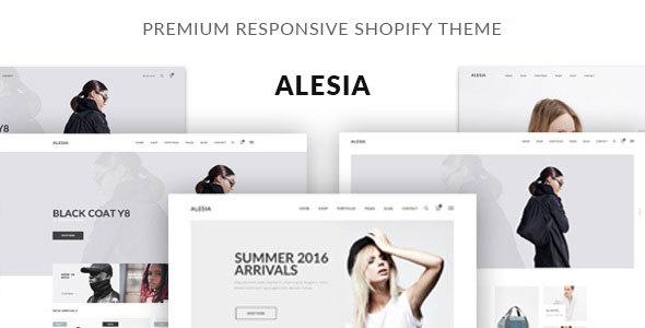 JMS Alesia – Premium Responsive Shopify Theme