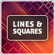 Lines & Squares Backgrounds - GraphicRiver Item for Sale