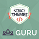 GuruBlog - Responsive Blog & Shop WordPress Theme for Experts Nulled