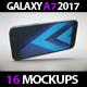 SmartPhone Galaxy A7 2017 App & Skin MockUp