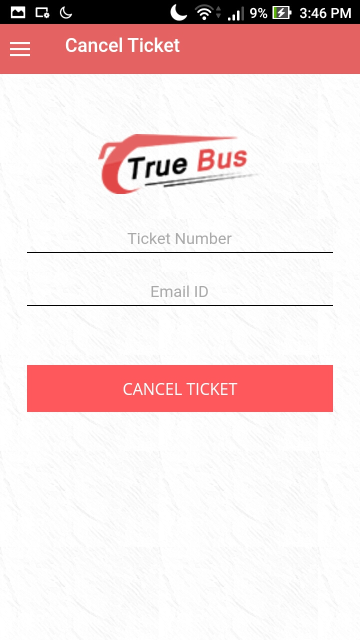 Online Bus Tickets Booking System- True Bus Mobile App