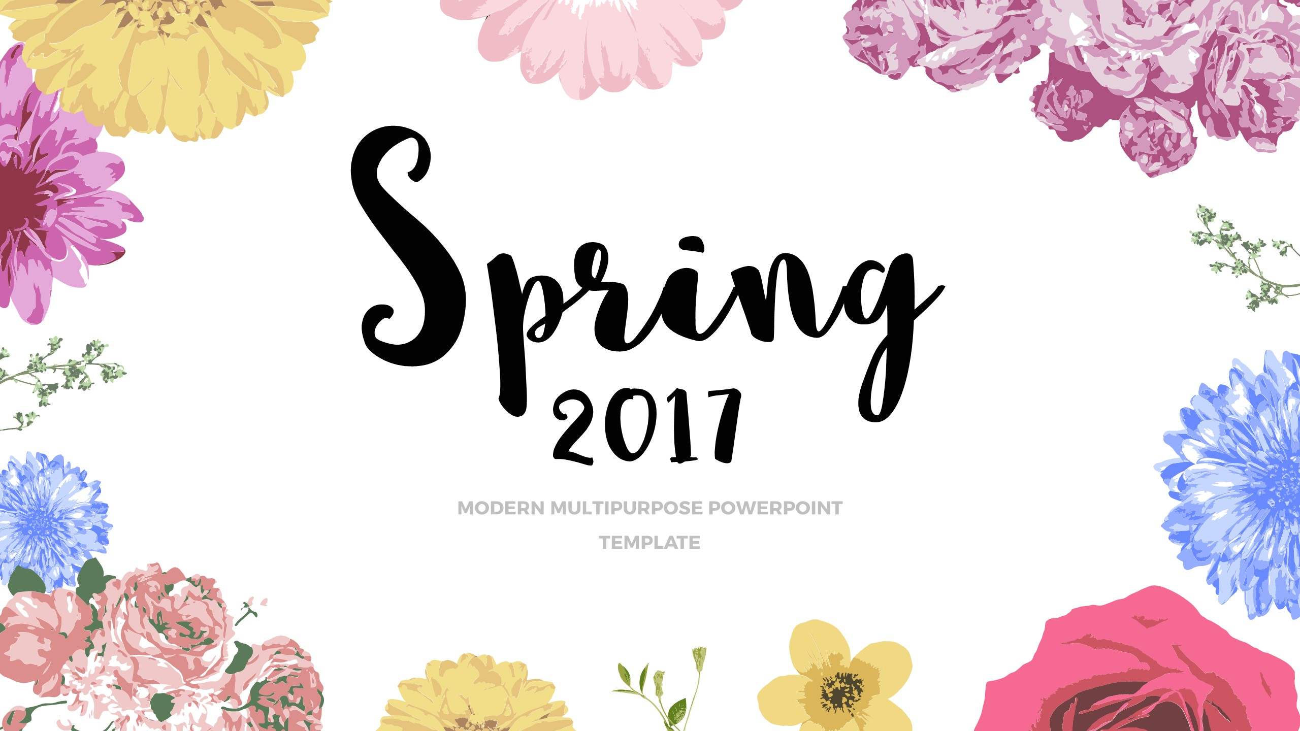 Spring 2017 - Powerpoint template by bagd | GraphicRiver