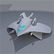 Mini Spaceship - 3DOcean Item for Sale