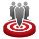 Candidates Target Logo