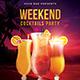 Summer Weekend Cocktail Flyer - GraphicRiver Item for Sale
