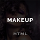 Makeup - Barbershop, Make-up, Spa, Beauty, Manicure HTML Template