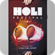 Happy Holi Party Flyer - GraphicRiver Item for Sale