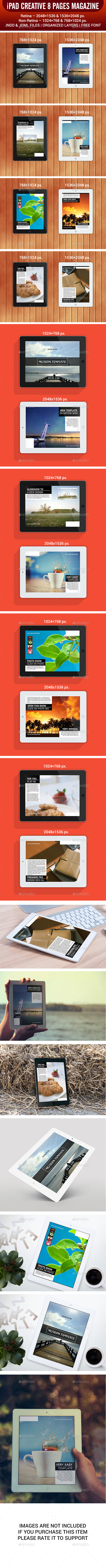 iPad Tablet Magazine 8 Pages - Digital Magazines ePublishing