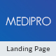 Medipro - Medical HTML Landing Page - ThemeForest Item for Sale