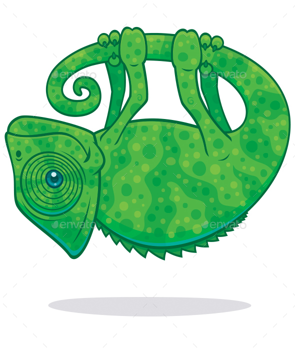 Magical Chameleon - Animals Characters