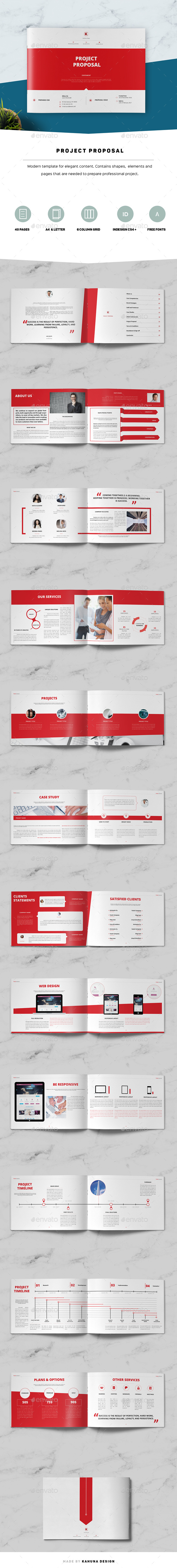 Project Proposal Landscape - Informational Brochures