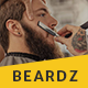 Beardz: Barbershop, Barbers & Hair Salon Interactive Template Nulled