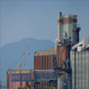 Nuclear Power Plant With Mountains Behind - VideoHive Item for Sale